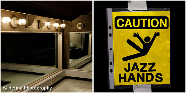 Jazz Hands and Dressing Room