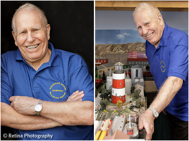 Model Train Owner Portraits