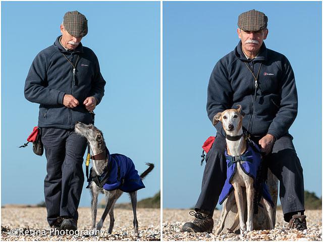 Dog Trainer Portrait With Dog