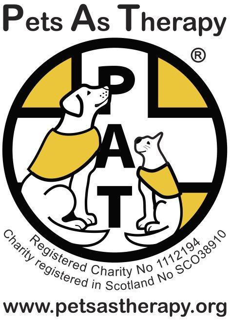Logotype or Logo for the Pets as Therapy Charity