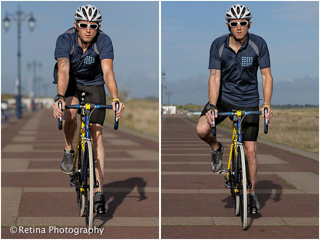 Portsmouth Southsea Triathlon Cyclist Training
