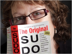 Sudoku Puzzler With Book