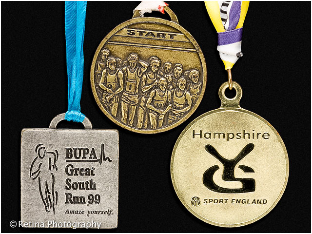 Great South Run Medal 1999 - Sport England Hampshire Youth Games Sport England 2000 - Havant Athletics Club 1999