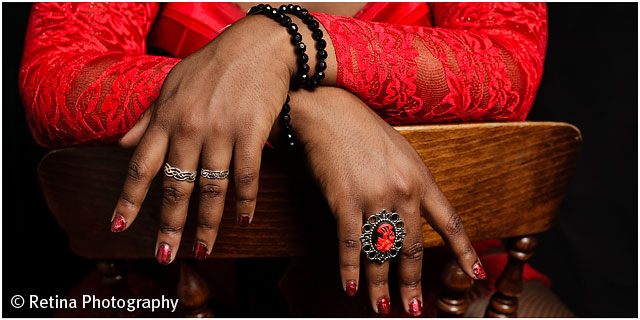 Burlesque Performer Hands And Nails Details