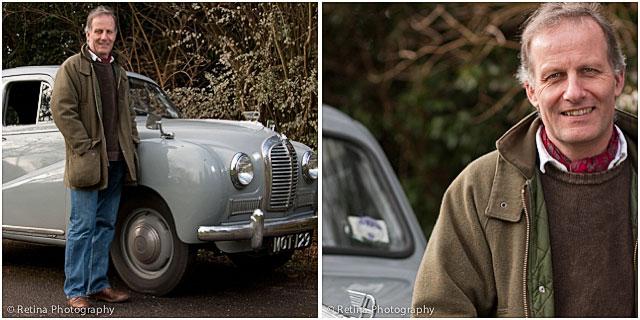 Classic Car Collector Portraits