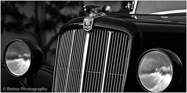 Front Of Morris Eight Classic Car