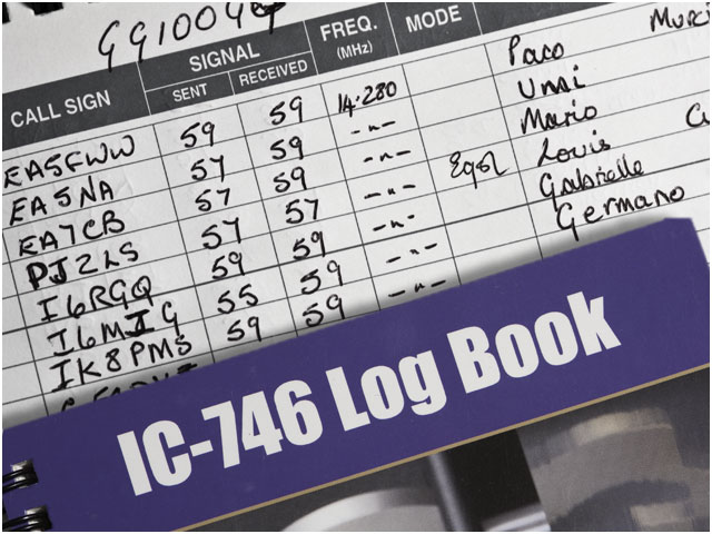 Ham Radio Log Book