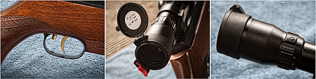 Hunter Field Target Air Rifle Close Up