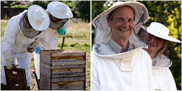 Husband And Wife Beekeepers