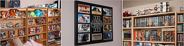 Lego Collectors Shelving For Star Wars Extras