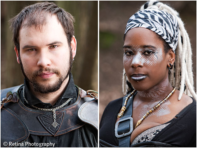 Live Action Role Play Larp Portraits