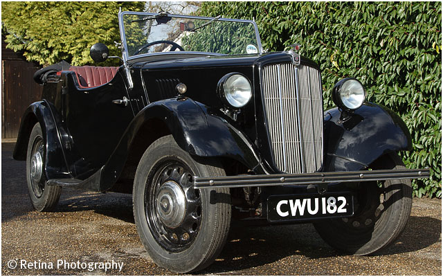 Morris Eight Classic Car