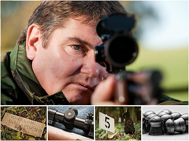 Weekend Passions Air Rifle Shooter Editorial Montage