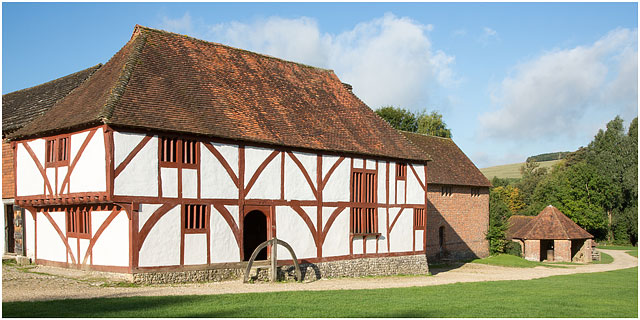 15Th Century Medieval House From North Cray Kent