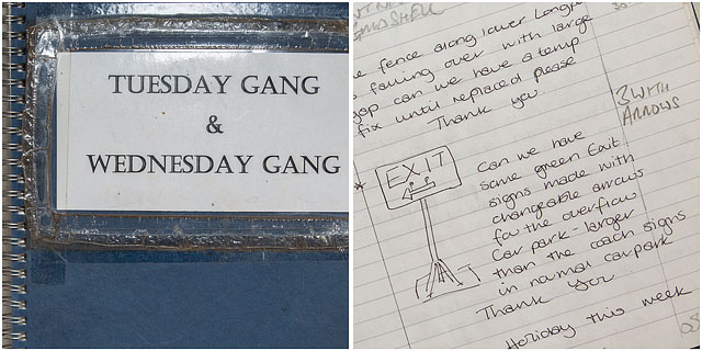 Tuesday And Wednesday Gang Work Book