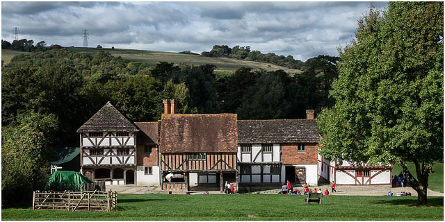 View Of Weald And Downland Open Air Museum From Hambrook Barn