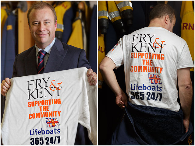 Fry and Kent RNLI T-shirt and Sweatshirt Merchandise