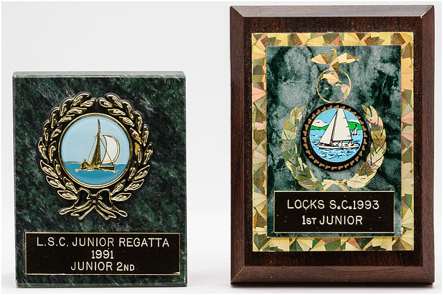 Two Locks Sailing Club Junior Trophies