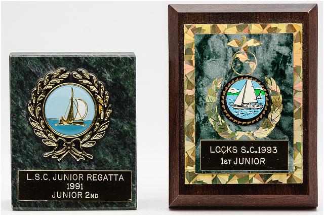 Two Locks Sailing Club Junior Trophies