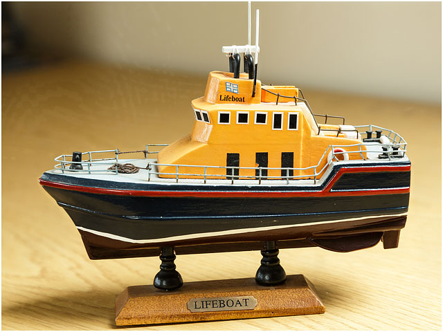 Model Of Older Style Lifeboat