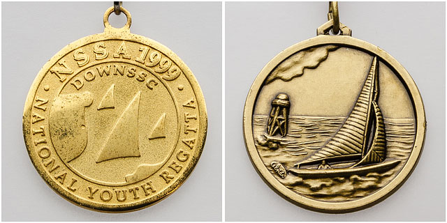National School Sailing Association Youth Regatta Medals
