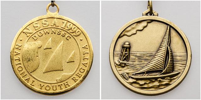 National School Sailing Association Youth Regatta Medals
