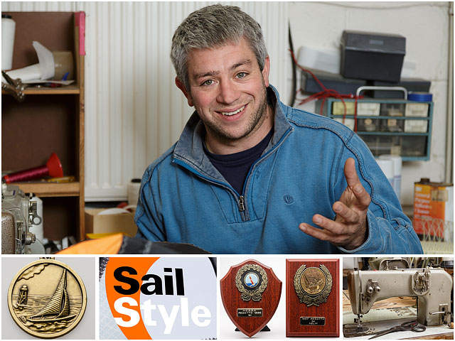 Sailmaker And Sailor Weekend Passions Editorial Montage