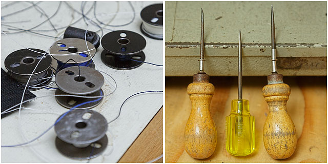 Sailmaker Workshop Tools And Thread