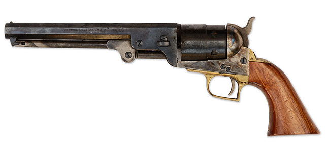 1851 Colts Navy Revolver 2nd Model