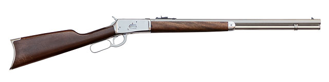 1892 Model Winchester Rifle Nickel Plated