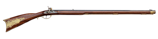 Pennsylvania Aka Kentucky Percussion Rifle, Circa 1840