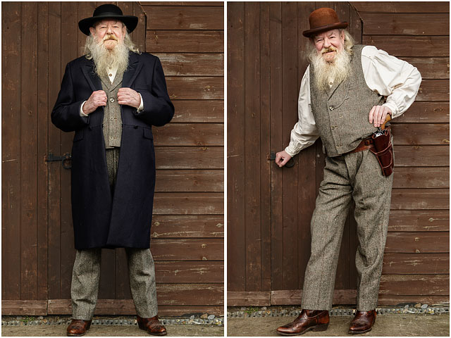 Change Of Outfit For Portsmouth Wild West Association Member