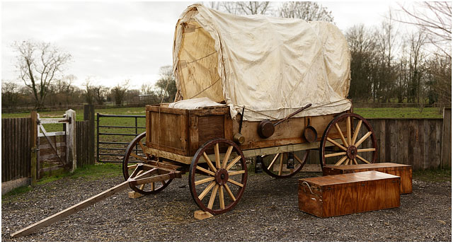 The PWWA American Wild West Covered Wagon