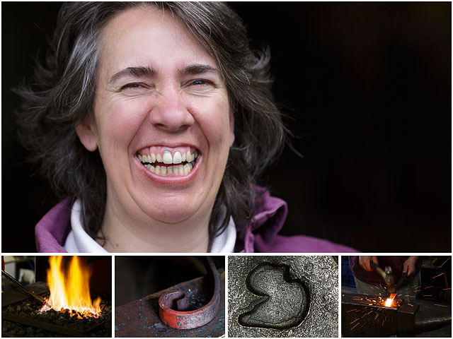 Weekend Passions Editorial Little Duck Forge Blacksmith Montage