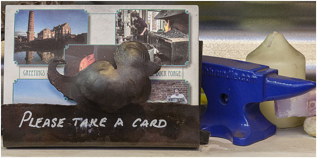 Little Duck Forge Greetings Card Holder