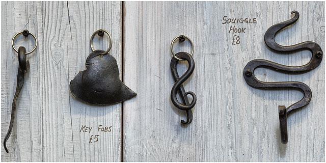 Key Fobs Designed And Created By Little Duck Forge