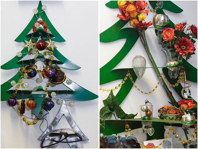 Little Duck Forge Metal Christmas Trees