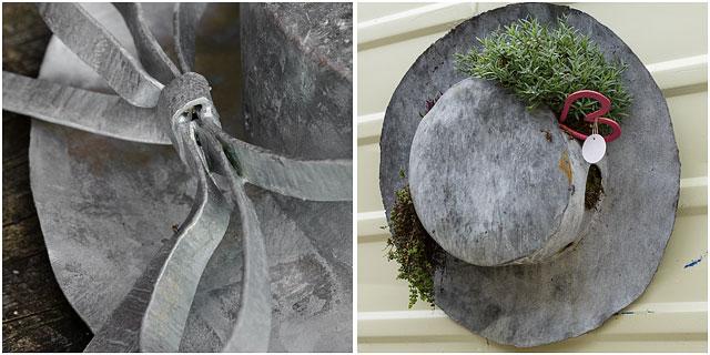 Blacksmiths Metal Hats Artwork