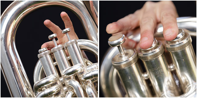 Finger Positions On E Flat Bass Tuba Valves