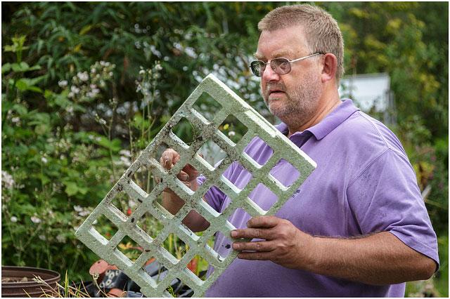 Man Doing Garden Maintenance