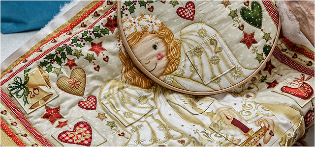 Christmas Quilt Breakaway Quilters Denmead
