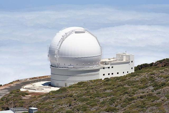 William Herschel Telescope Observatorio Del Roque De Los Muchachos Island La Palma