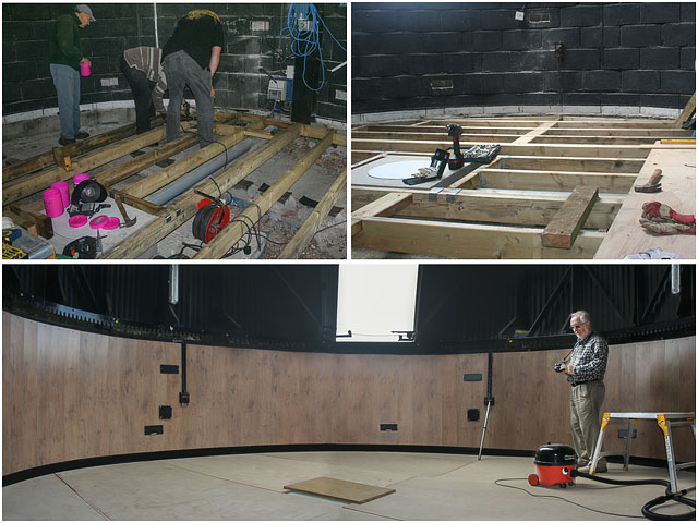 Flooring Replacement for Hampshire Astronomical Group 24 Inch Dome