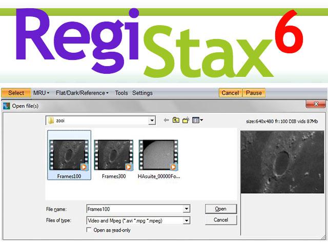 Registax Screenshot Software Computer