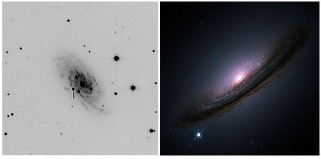 Supernova NASA Hampshire Astronomical Group