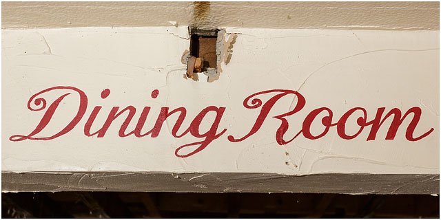 Fox And Hounds Denmead Public House Community Ownership Cooperative Dining Room Sign