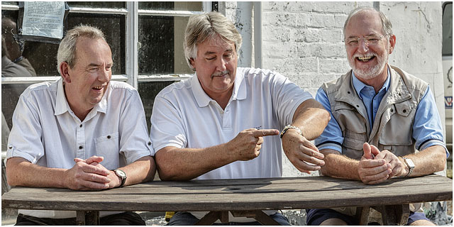 Fox And Hounds Denmead Public House Community Ownership Cooperative Male Portrait