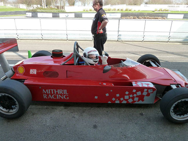 Formula Ford 2000 Goodwood Face Track Single Seater Red Racing Car