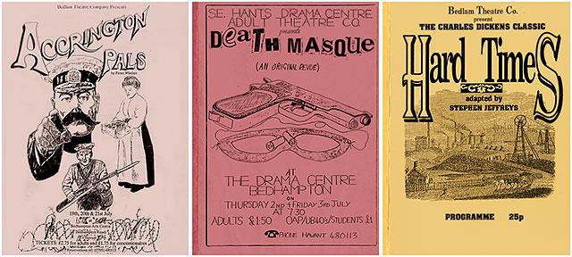 Bedlam Theatre Company Concert Programmes