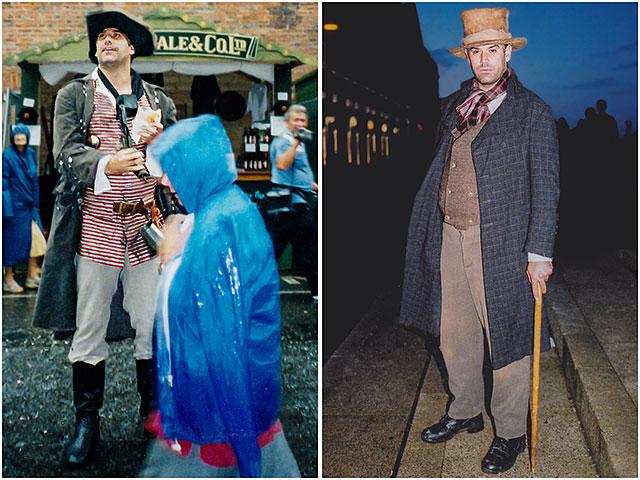 Portsmouth Dockyard Festival Sea Dickens Bill Sykes